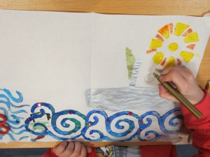 "Children got to create their very own ""Book of Kells""!"