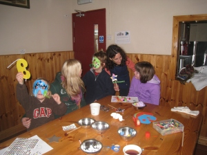 Making Masks in Cavan